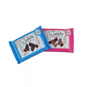 mini tablette chocolat mathez sachets