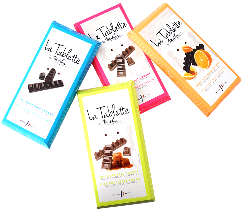 Les tablettes de chocolat by Mathez