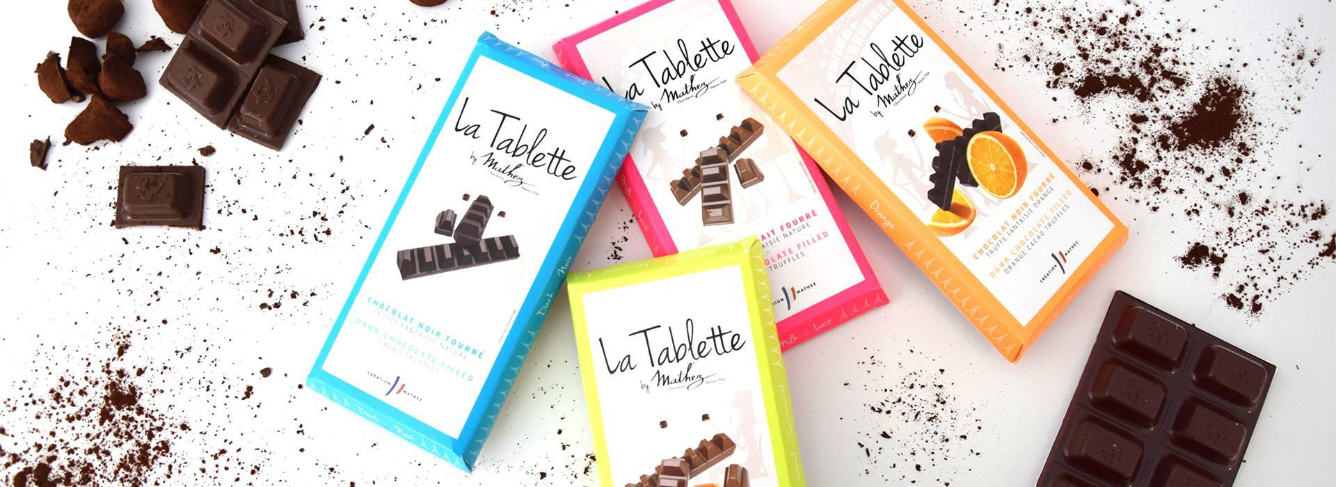 Chocolate Tablette Collection by Mathez
